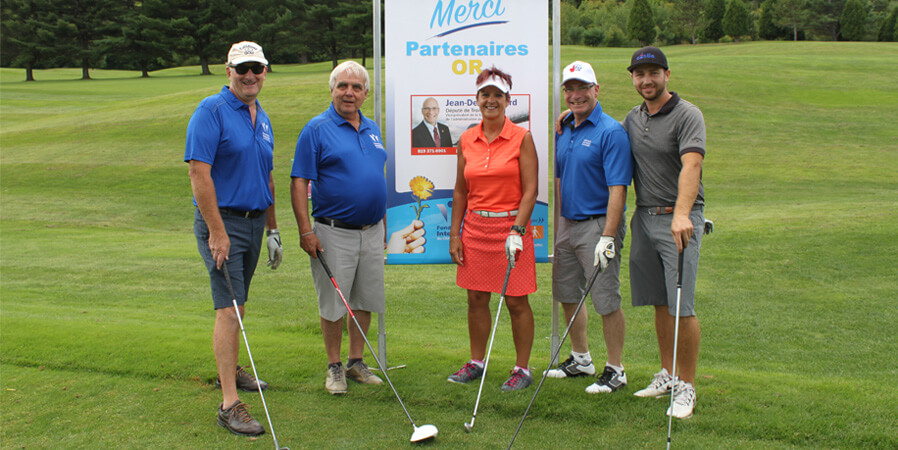 a la une tournoi de golf fondation interval
