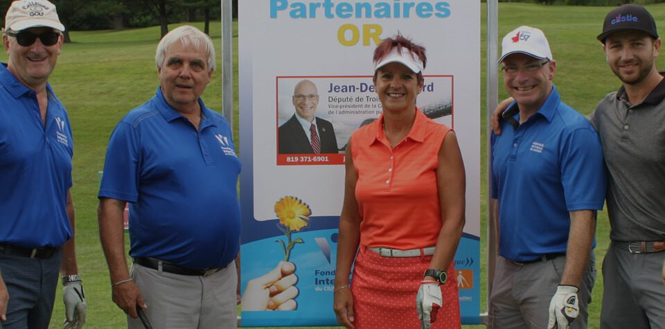 tournoi de golf fondation interval